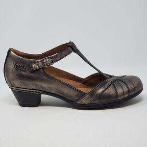 Cobb Hill Angelina Rockport Metallic Dress Shoes